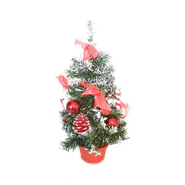Arvore-Natalina---Mini-Arvore---38-cm---cores-sortidas---unidade-Vermelho