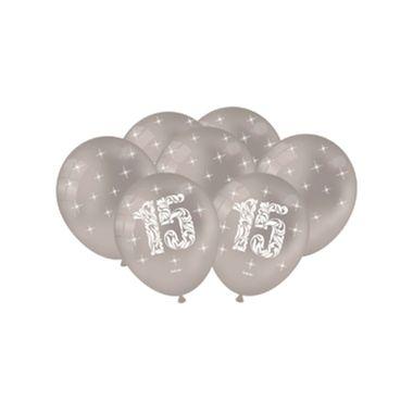 Balao-15-anos-9----Latex---Prata-Metallic---pacote-25-unidades