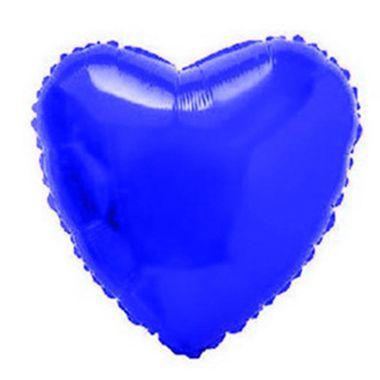 Balao-Coracao-20----metalizado---Azul---unidade