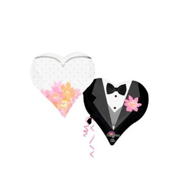 Balao-Coracao-Casal---Casamento---Super-Shape---metalizado---30--x-25----unidade