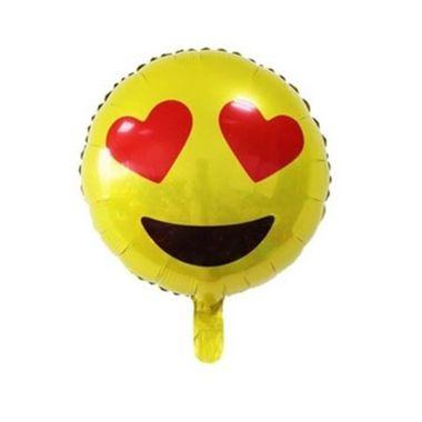 Balao-Emoji-Coracao-20----metalizado---unidade