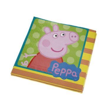 Guardanapo-Peppa-Pig---25-x-25-cm---pacote-16-unidades