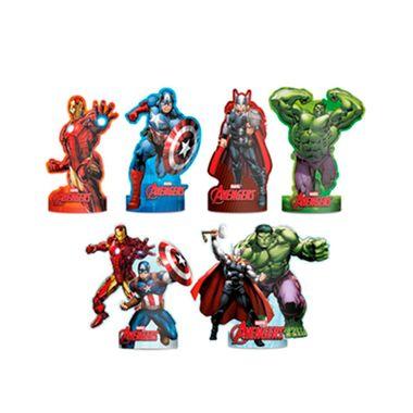 Decoracao-de-Mesa-Avengers-Animated---redondo---embalagem-06-unidades